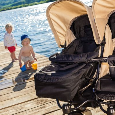 Soft carrycot for strollers