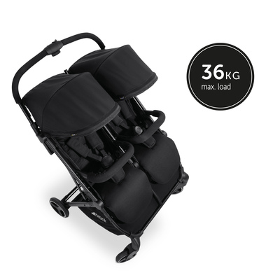 The compact double stroller